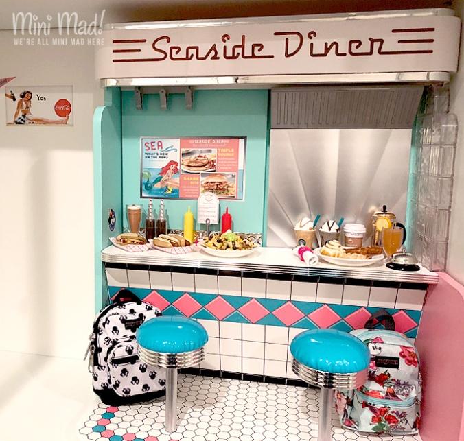 Seaside Diner folded up